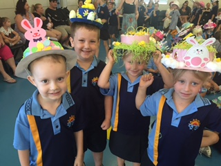 Easter Bonnet Parade